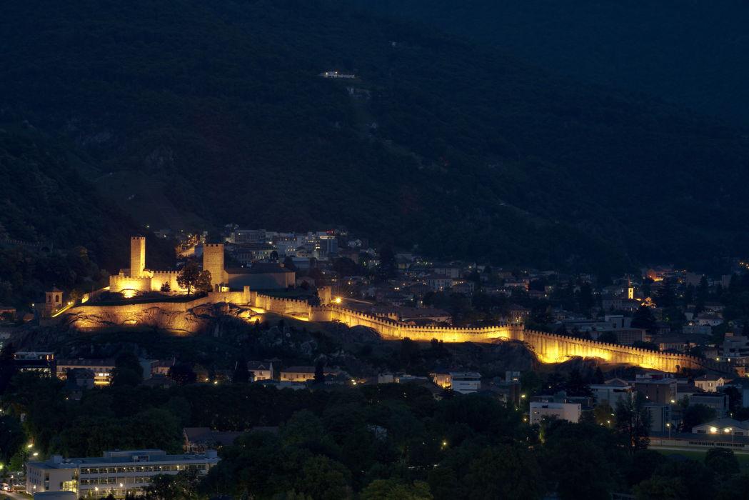Bellinzona en de 3 UNESCO kastelen
