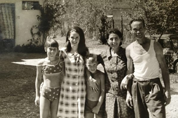 Mama Lena, Papa Gerolamo and Agata